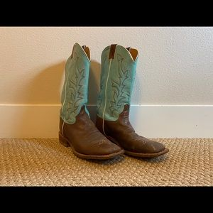 Justin Square Toed Boots